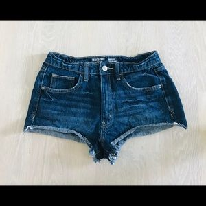💓jean shorts💓 brand: mossimo